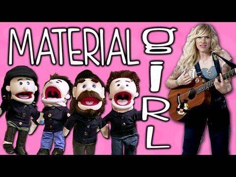 Tekst piosenki Walk Off The Earth - Material Girl po polsku
