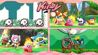 Evolution of Kirby's Victory Dance ᴴᴰ (1992 - 2019) [31 games]