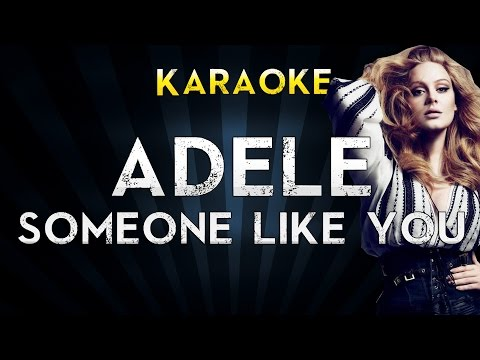 Adele - Someone Like You | Lower Key Karaoke Instrumental Lyrics Cover Sing Along