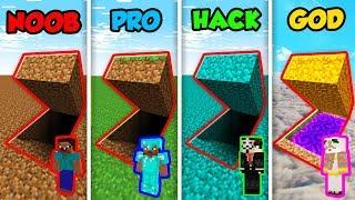 Video Minecraft NOOB vs. PRO vs. HACKER vs. GOD: SECRET DIRT BASE in Minecraft! (Animation) MP3, 3GP, MP4, WEBM, AVI, FLV September 2019