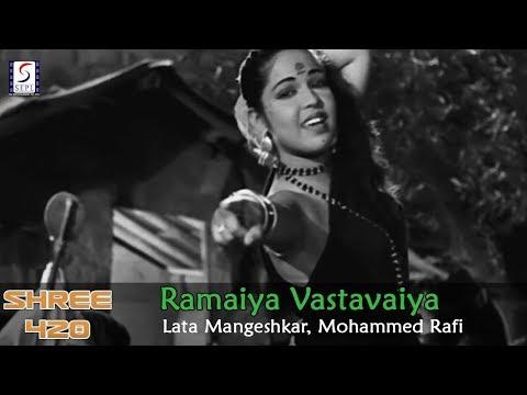 Ramaiya Vastavaiya - Lata Mangeshkar, Mohammed Rafi @ Shree 420 - Raj Kapoor, Nargis