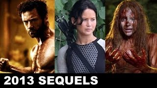 Top Ten Sequels&Remakes Of 2013: The Hunger Games Catching Fire, Sin City 2, Carrie And More!
