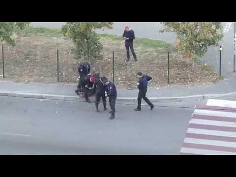 Неадекватный грузин в Киеве