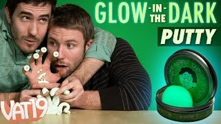 Charge Glow in the Dark Thinking Putty by exposing it to a light source and it will radiate a bright green in darkness. Buy here: ...