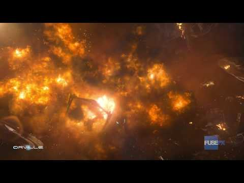 FuseFX: The Orville Episode 209 Space Battle (VFX Breakdown) - Emmy Nominated