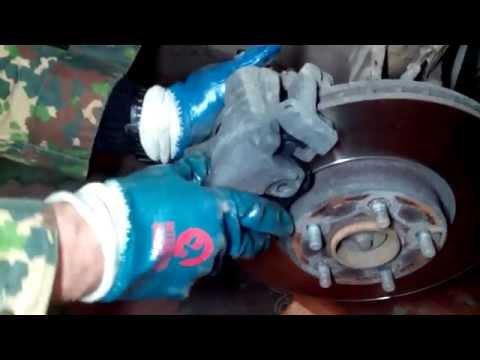 замена тормозных колодок форд мондео инструкция