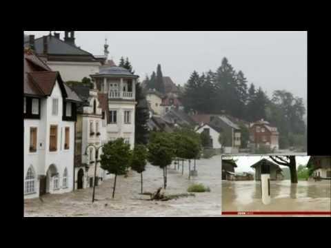 Major Floods hit Central Europe ✪ Hochwasser 2013 Österreich,Deutschland,Schweiz,CZ