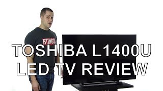 Toshiba L1400U LED TV Review