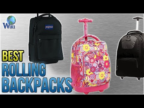 10 Best Rolling Backpacks 2018