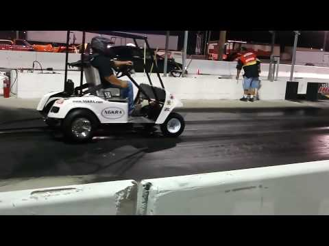 Golf Cart vs Scion TC