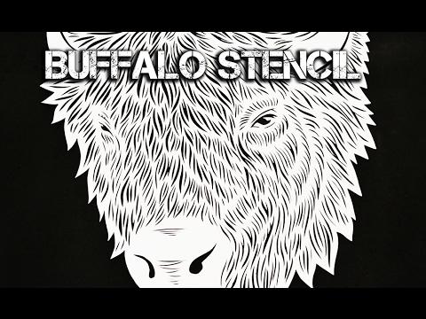 Buffalo Stencil