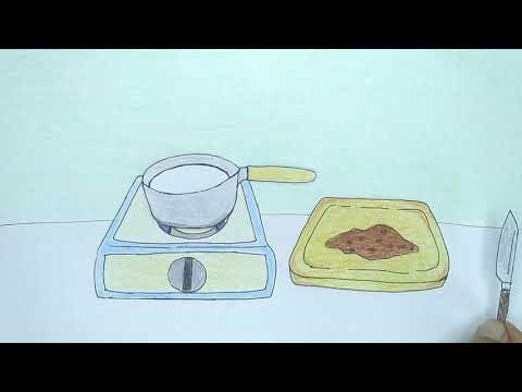 Hot Chocolate - PAPER STOP MOTION COOKING Video (ft. Cookies)
