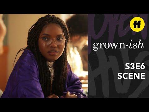 grown-ish Season 3, Episode 6   Jillian Apologizes To Zoey   Freeform