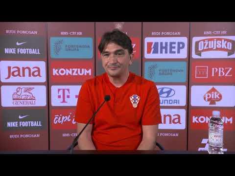 """Dalić: """"Ostvarili smo prvi cilj, ali naša ambicija je puno veća"""""""