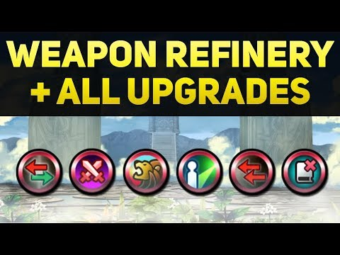 Weapon Refinery Guide (All Regular & Legendary Upgrades and Evolutions) - Fire Emblem Heroes Guide