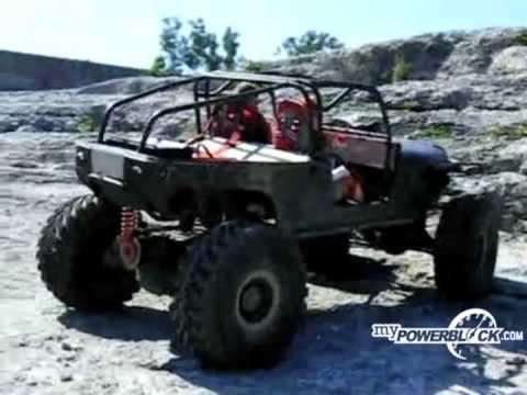 myPowerBlock: Custom Jeep 4×4 Climbing