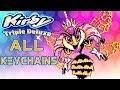 Kirby Triple Deluxe 3DS - ALL 256 KEYCHAINS [HD]