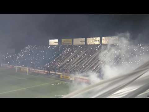 Gran recibimiento del dkno contra boca - La Inimitable - Atlético Tucumán