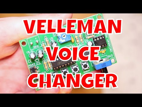Velleman MK171 Voice Changer Review - Simple Electronics Projects for Beginners