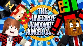 16 Player Minecraft Randomized Hunger Games! - Minecraft Modded Minigames | JeromeASF