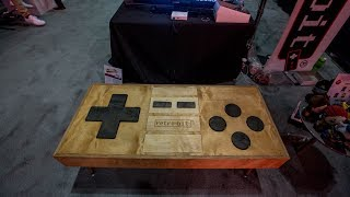 The Mega Table is a full-blown coffee table-sized NES controller that can actually be used to play classic games. It's not practical, nor is really an ideal way to play any game. Subscribe: http://goo.gl/G5RXGsCheck out our full video catalog: http://goo.gl/lfcGfqVisit our playlists: http://goo.gl/94XbKxLike The Verge on Facebook: http://goo.gl/2P1aGcFollow on Instagram: http://goo.gl/7ZeLvXRead More: http://www.theverge.com