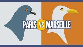 Video Top des différences entre Paris et Marseille, le grand clash en images MP3, 3GP, MP4, WEBM, AVI, FLV Mei 2017