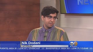 """Actor Nik Dodani appeared on KCAL9 News on Sunday morning to discuss his character in """"Atypical."""" Amy Johnson reports."""