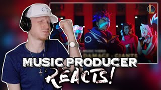 Video Music Producer Reacts to True Damage - GIANTS (ft. Becky G, Keke Palmer, SOYEON, DUCKWRTH, Thutmose) download in MP3, 3GP, MP4, WEBM, AVI, FLV January 2017