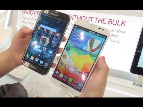 Optimus G Pro Vs Galaxy Note II *First Look*