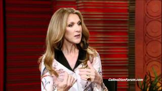 Céline Dion on Live with Regis and Kelly