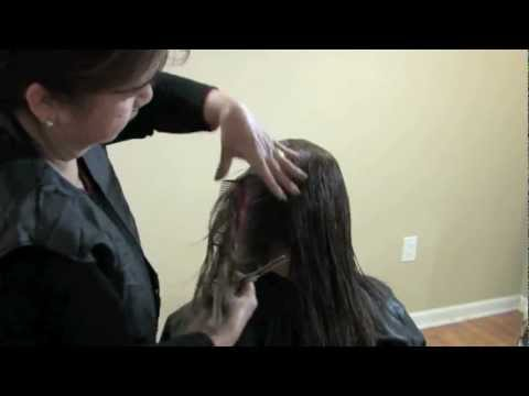 Como cortar el pelo en capas - 2 de 2 - Cursos de Peluquería