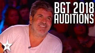 Video Britain's Got Talent 2018 | WEEK 1 Auditions | Got Talent Global MP3, 3GP, MP4, WEBM, AVI, FLV April 2018