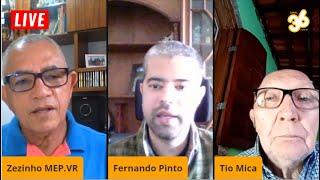 LIVE Tio Mica entrevista Zezinho do MEP e Fernando Pinto 22/09/2020