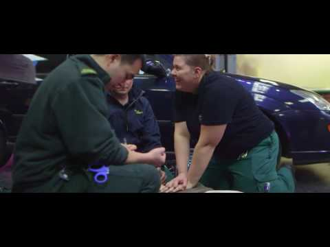 Studying to become a paramedic