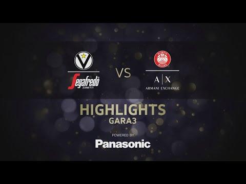 Serie A 2021 playoff Finale G3 highlights: <br>Virtus Segafredo Bologna-A|X Armani Exchange Milano