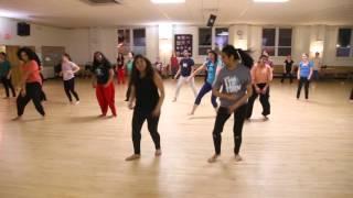 Aaj Ki Party - Choreography
