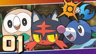 Pokémon Sun and Moon - Episode 1 | Aloha Alola! by Munching Orange