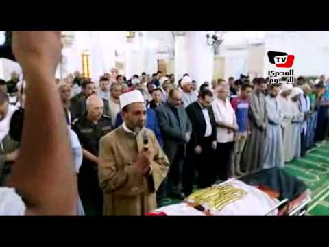 تشييع جنازة رقيب الشرطة ببني سويف بعد استشهاده بـ«العريش»