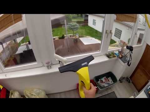 Kärcher WV50 Plus Akku-Fenstersauger Vorführung