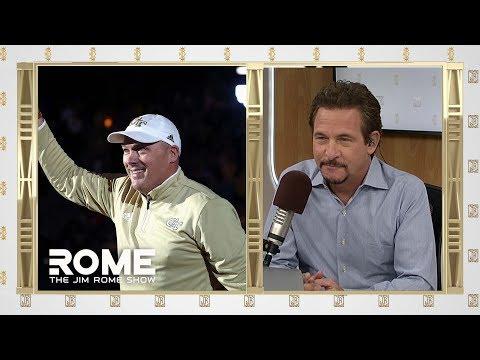 Video: Geoff Collins on Georgia Tech football   The Jim Rome Show