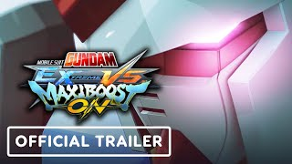Mobile Suit Gundam Extreme VS. Maxiboost On - Official Announcement Trailer by IGN