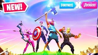 *NEW* AVENGERS ENDGAME GAMEPLAY in Fortnite!
