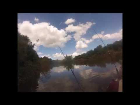 Sábado no rio Santa Maria - Dom Pedrito - RS
