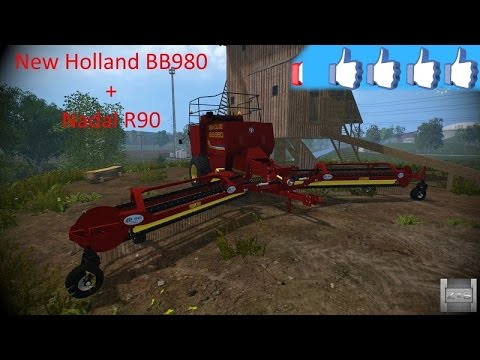 New Holland BB980 + Nadal R90 v1.0