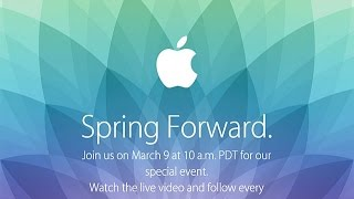 Pre Apples Spring Forward Event - YouTube