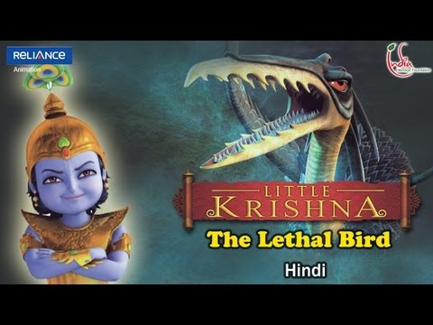 Little Krishna Hindi - Episode 9 Assault Of The Lethal Bird