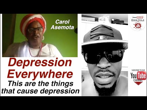 Depression Everywhere This are the things that cause depression