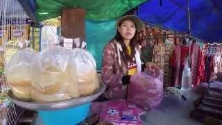 Mukdahan Thailand  City new picture : Indochina market Mukdahan Thailand หมูยอแม่นิลตลาดอินโดมุกดาหาร