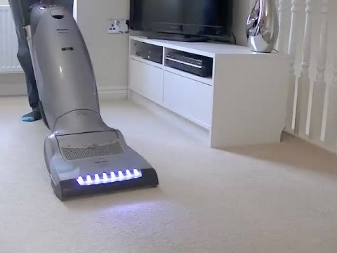 Miele S7580 Autocare Hepa Upright Vacuum Cleaner Review & Demonstration