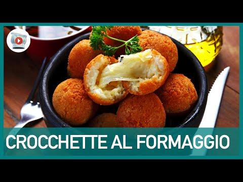 video ricetta - crocchette al formaggio